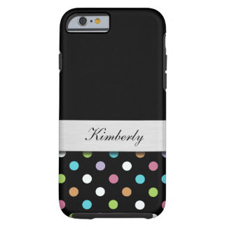 Girly Monogram Style Tough iPhone 6 Case