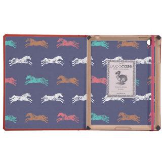 Girly Multi-color Classic Equestrian Horses