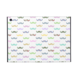 Girly mustache pattern cover for iPad mini