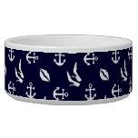 Girly nautical pattern bowl