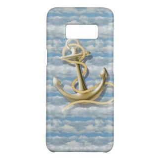 girly nautical preppy blue sky cloud anchor Case-Mate samsung galaxy s8 case