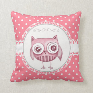 Girly Owl Pillows
