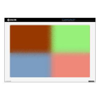 """Girly Pastel Pattern 17"""" Laptop Decal"""