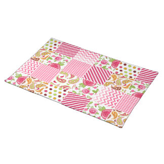 Girly Patchwork Place mat Cloth Place Mat
