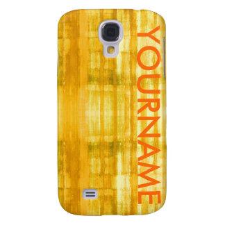Girly Pattern Yellow Art Samsung Galaxy S4 Case