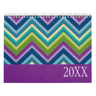 Girly Patterns and Funky Designs Calendar