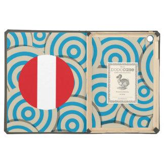 Girly Peruvian Flag Gift iPad Air Covers