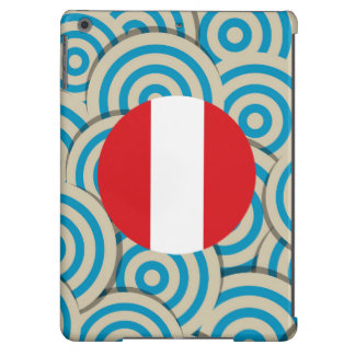 Girly Peruvian Flag Gift Cover For iPad Air