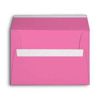 Girly Pink A7 Envelope