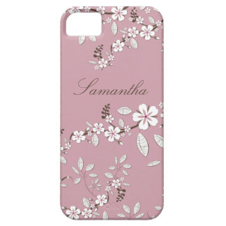 Girly Pink and White Dogwood Blossoms iPhone 5 Cover