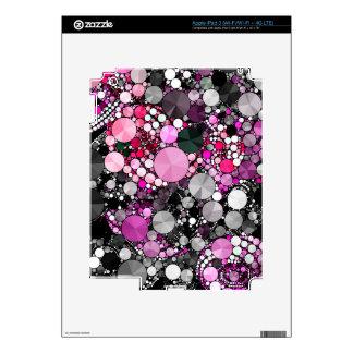 Girly Pink Bling Abstract iPad 3 Skin