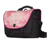 Girly Pink Camo Laptop Bag