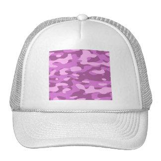 Girly Pink Camouflage Trucker Hat