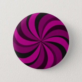 gIRLY pINK cANDY sWIRL Button