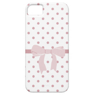 Girly Pink Dots iPhone SE/5/5s Case