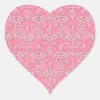 393 Double Heart Stickers Zazzle