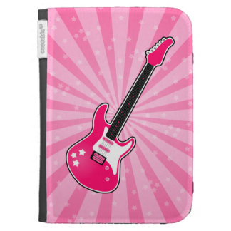 Girly Pink Electric Guitar Case For The Kindle