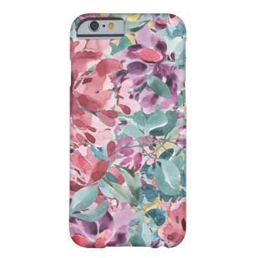girly pink floral iphone 6 case