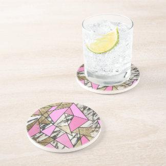 Modern Drink Coasters Modern Beverage Coasters Zazzle