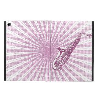 Girly Pink Grunge Saxophone Powis iPad Air 2 Case
