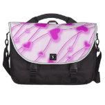 Girly Pink Hearts Laptop Bag Laptop Bag