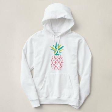 heartlocked Girly Pink Pineapple Hoodie