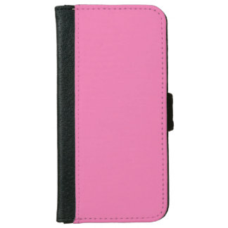 """Girly Pink"" iPhone 6 Wallet Case"