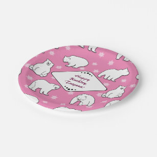 Pink And White Snowflake Plates Zazzle  sc 1 st  xnuvo.com & Scintillating Pink Snowflake Plates Pictures - Best Image Engine ...