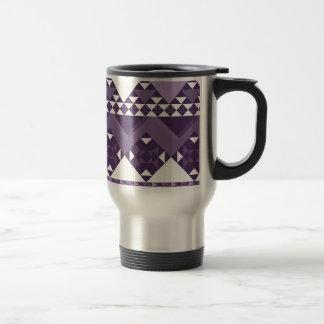 Girly Pink Tribal Aztec Pattern Travel Mug