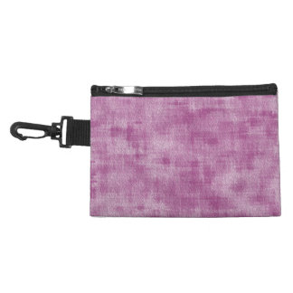 Girly Pink Watercolor Abstract Pattern Accessory Bags