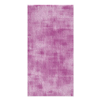 Girly Pink Watercolor Abstract Pattern Photo Card Template