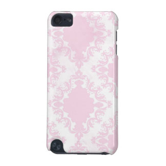 Girly Pink White Lace Vintage Damask Pattern iPod Touch 5G Covers