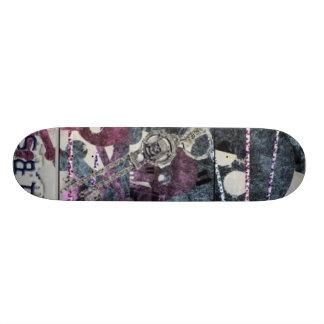 Girly Pirates Skateboard Deck