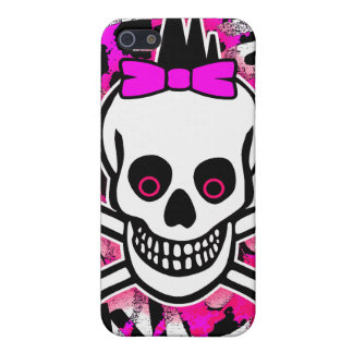 Girly Punk Skull iPhone 4 Case