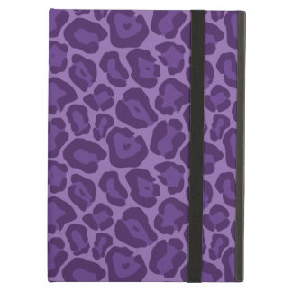 Girly Purple Leopard Pattern Case For iPad Air
