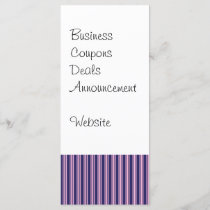 Girly Purple Striped Pattern Gifts for Her