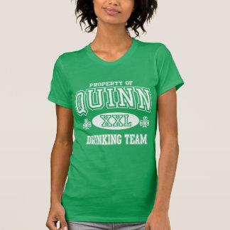 Girly Quinn Irish Shamrock T-shirts
