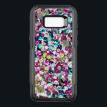 "Girly Rainbow Faux Sequins Bling OtterBox Commuter Samsung Galaxy S8  Case<br><div class=""desc"">Enjoy our original photographic sequin in bright shades of pink,  aqua,  green,  yellow and more!</div>"