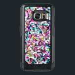 "Girly Rainbow Faux Sequins Bling OtterBox Samsung Galaxy S7 Case<br><div class=""desc"">Enjoy our original photographic sequin print in bright shades of pink,  aqua,  green,  yellow and more!</div>"
