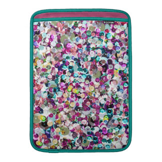 Girly Rainbow Faux Sequins Bling Sleeve For MacBook Air