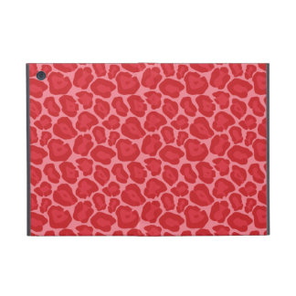 Girly Red Leopard Pattern iPad Mini Cases
