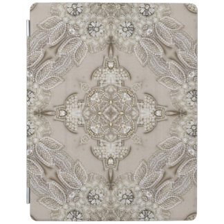 girly Rhinestone lace pearl glamorous iPad Cover