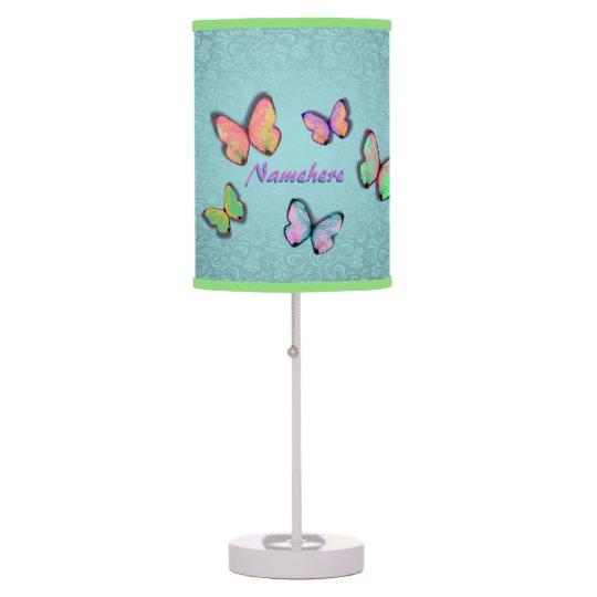Girly Lamps For Bedroom: Girly Room Gift! Girly Lamp! Add Her NAME! Desk Lamp