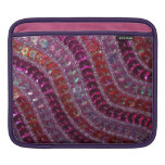Girly Shiny Bright Purple Pink Sequins Sleeve For iPads