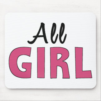 Girly shirts, accessories and apparel mouse pad
