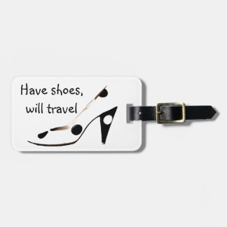 Girly Shoes Bag Tags