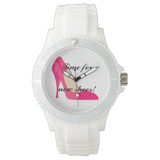 Girly shoess watch
