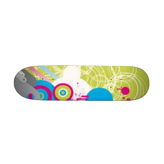 Girly skateboard