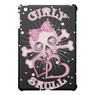 Girly Skull iPad Mini Cover