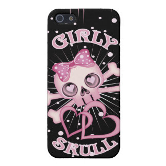 Girly Skull iPhone 5 Covers